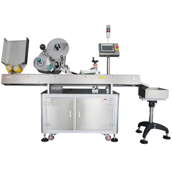 60-500 дана мин үнемдеу автоматты фармацевтикалық бөтелке флаконын таңбалау машинасы