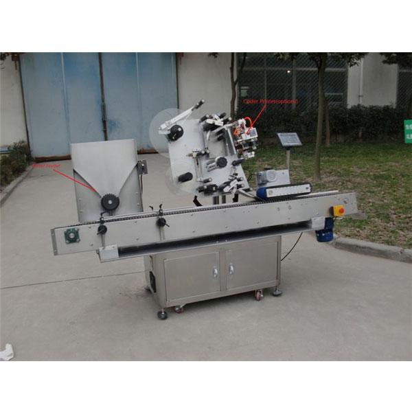 Сұйық бөтелкедегі флаконға арналған стикерді жапсыруға арналған машина