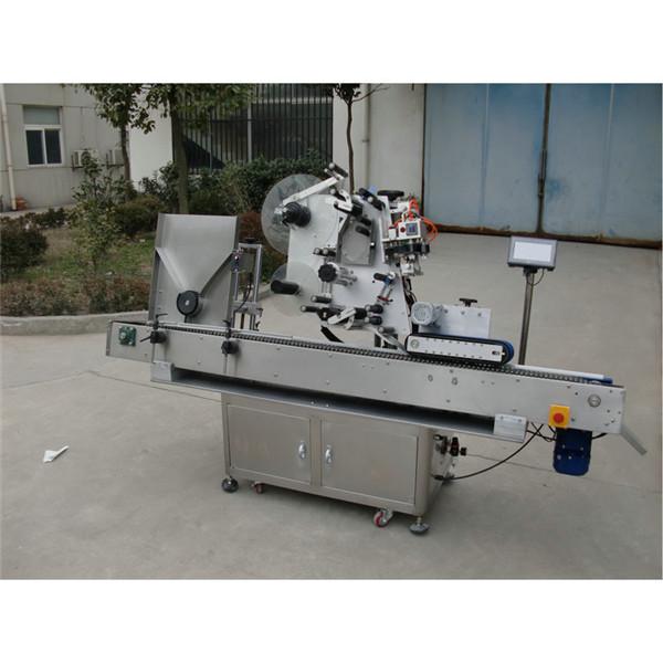 Servo моторлы құтыдағы жапсырманы жапсыруға арналған автоматты ампулалық түтік