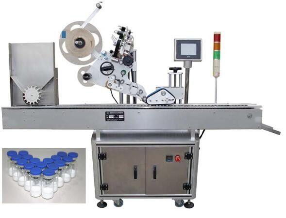 Фармацевтикаға арналған 10мл шағын бөтелкелерді таңбалау машинасы