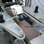 Сыра бөтелкесінің қозғалтқышына арналған дөңгелек бөтелке жапсырмаларын автоматты түрде жапсыру машинасы