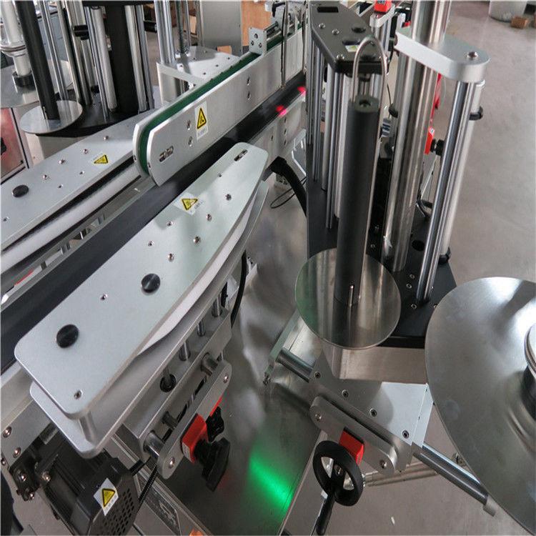 CE автоматты жапсырмаларды жапсыру машинасы, алдыңғы және артқы бөтелкелерді жапсыру машинасы