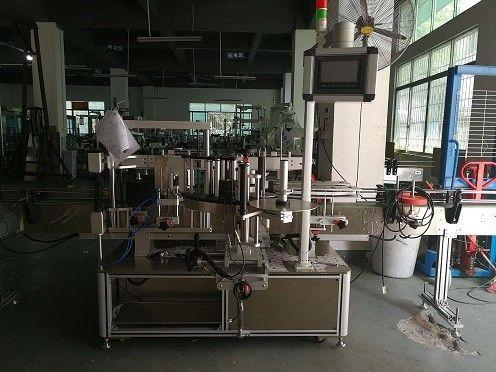 Екі жақты пластикалық бөтелкелерді жапсыруға арналған машина / бөтелкелердің автоматты түрде жапсырмасы
