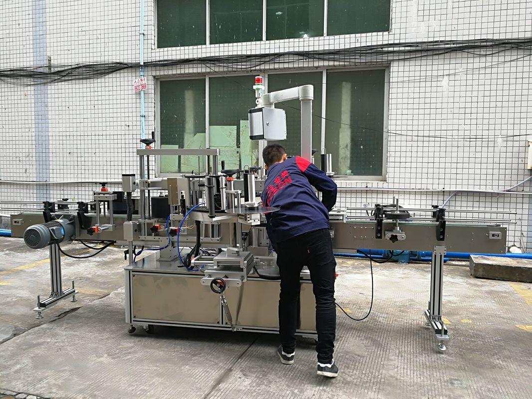 Шыны / ПЭТ бөтелкесіне арналған толығымен автоматты су бөтелкесін таңбалау машинасы
