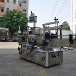 Жоғары жылдамдықты автоматты үш жақты төртбұрышты бөтелке жапсырмасы жаққыш машинасы