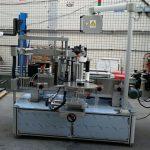 Екі жақты жапсырма эллиптикалық сопақ бөтелке автоматты таңбалау машинасы