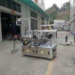 Автоматтық үш жақты төртбұрышты бөтелкені таңбалау машинасы